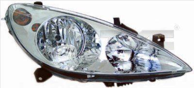 Hlavný svetlomet TYC 20-0165-15-2 20-0165-15-2