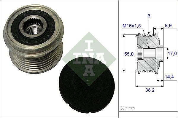 Napínacia kladka ozubeného remeňa INA 532 0227 10 532 0227 10