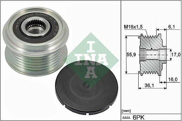 Riadiaci ventil nastavenia vačkového hriadeľa INA 427 0007 10 427 0007 10