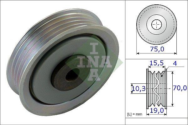 Centrálny magnet pre nastavovanie vačkového hriadeľa INA 427 0034 10 427 0034 10