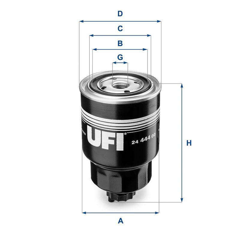 Palivový filter UFI 24.360.00 24.360.00