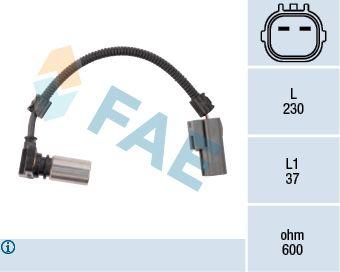 Snímač otáčok, automatická prevodovka FAE 79085 79085