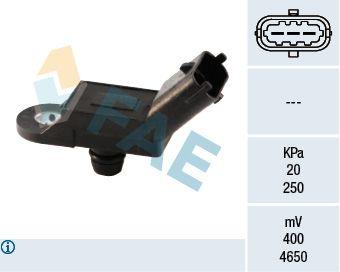Snímač tlaku v sacom potrubí FAE 15019 15019