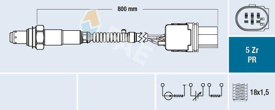 Lambda sonda FAE 75051 75051