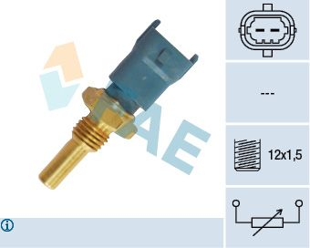 Snímač teploty chladiacej kvapaliny FAE 33490 33490