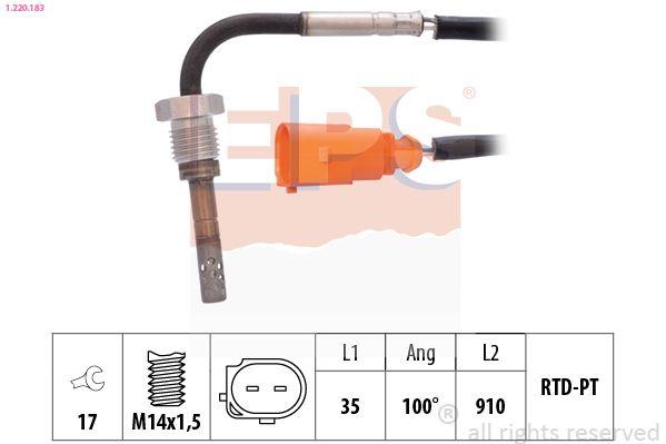 Palec (rotor) rozdeľovača zapaľovania EPS 1.431.107 1.431.107