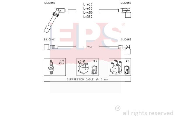 Olejový tlakový spínač EPS 1.800.147 1.800.147