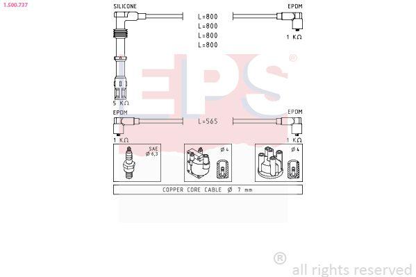 Spínač brzdových svetiel EPS Made in Italy - OE Equivalent 1.810.147 1.810.147
