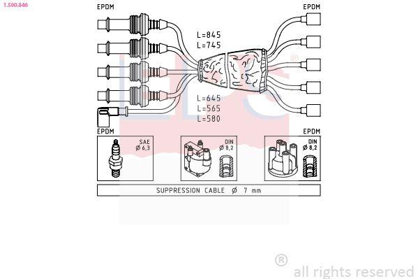 Spínač brzdových svetiel EPS Made in Italy - OE Equivalent 1.810.156 1.810.156