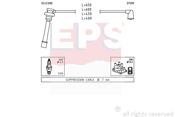 Spínač brzdových svetiel EPS 1.810.107 1.810.107