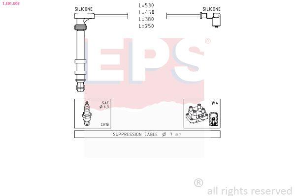 Spínač brzdových svetiel EPS 1.810.208 1.810.208