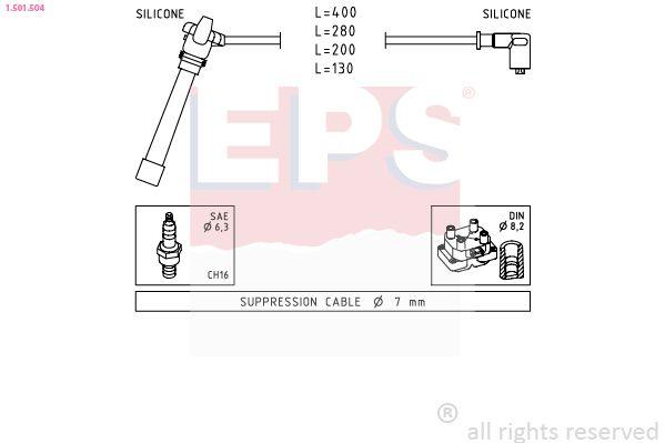 Spínač brzdových svetiel EPS 1.810.156 1.810.156