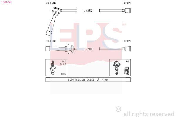 Senzor teploty paliva EPS Made in Italy - OE Equivalent 1.830.010 1.830.010