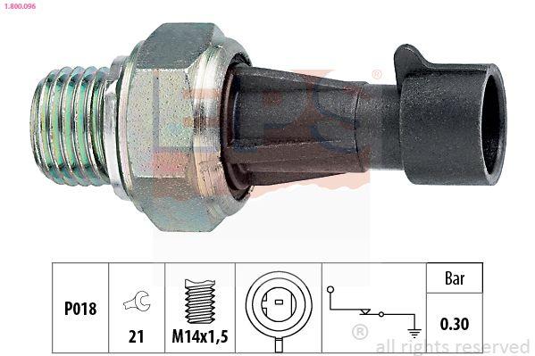 Snímač teploty chladiacej kvapaliny EPS Made in Italy - OE Equivalent 1.830.159 1.830.159