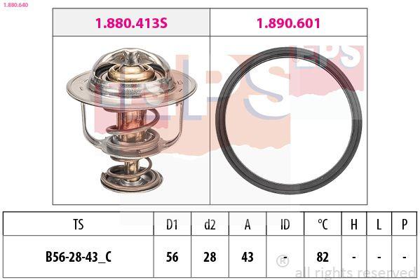 Snímač impulzov zapaľovania EPS Made in Italy - OE Equivalent 1.906.159 1.906.159