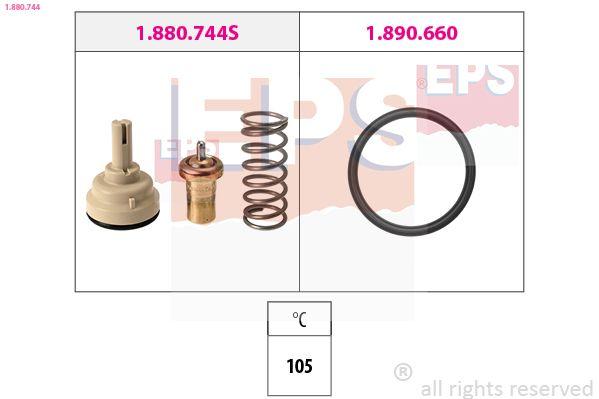 Snímač impulzov kľukového hriadeľa EPS Made in Italy - OE Equivalent 1.953.159 1.953.159
