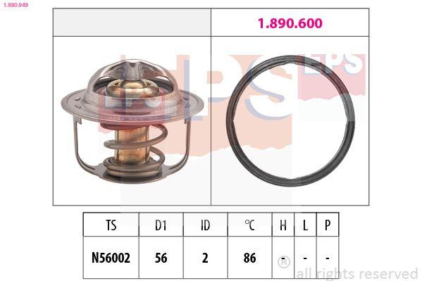 Snímač otáčok, automatická prevodovka EPS 1.953.232 1.953.232