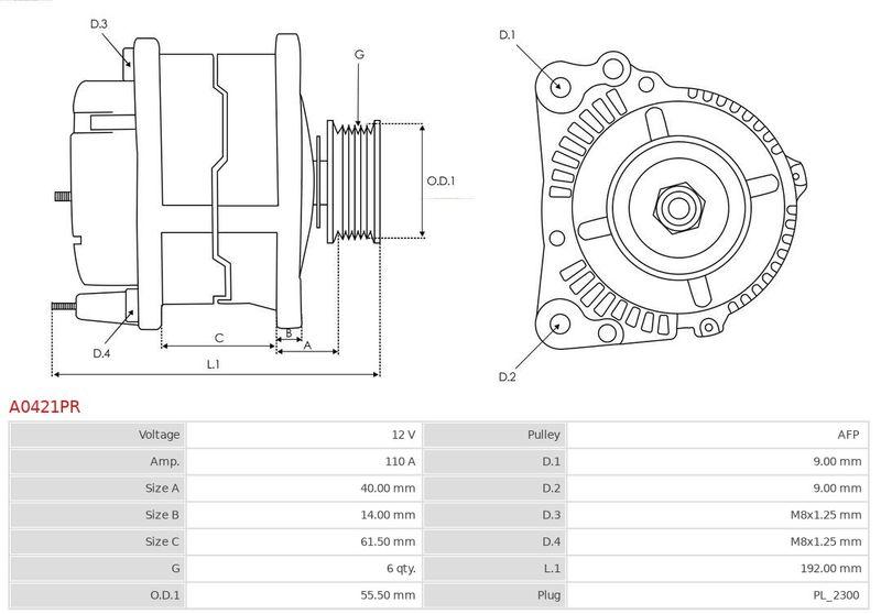 Regulátor alternátora AS-PL ARE3328(VALEO) ARE3328(VALEO)