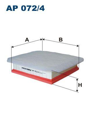 Vzduchový filtr FILTRON AP 125
