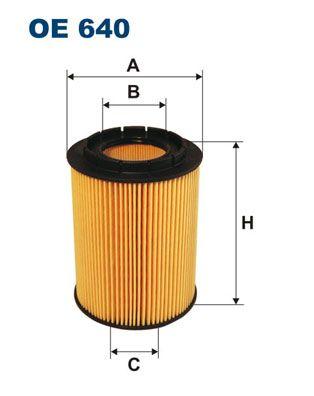 Filtr, pracovní hydraulika FILTRON OP 563