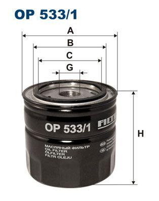 Palivový filtr FILTRON PM 819
