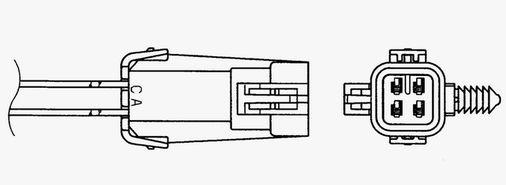 Lambda sonda NGK 96709