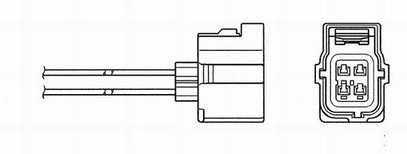 Lambda sonda NGK 6397