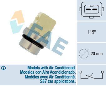 Teplotní spínač FAE 35310