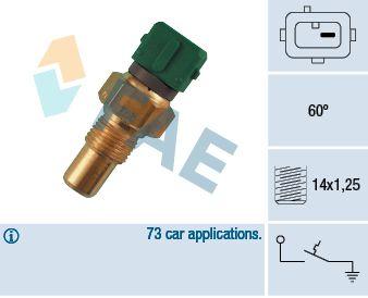 Teplotní spínač FAE 35610