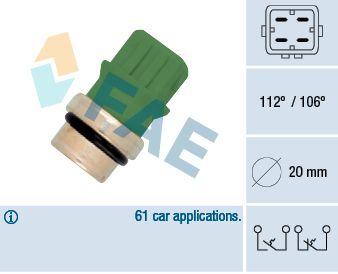 Teplotní spínač FAE 35590