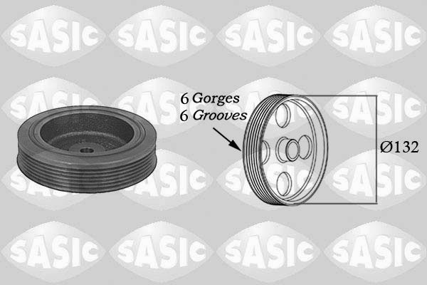Řemenice, klikový hřídel SASIC 4000704
