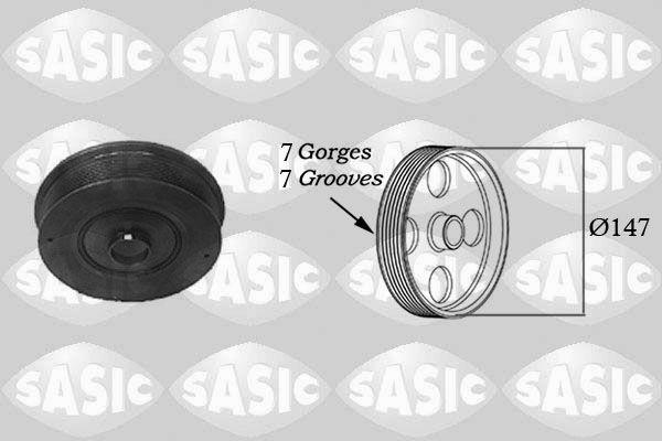 Řemenice, klikový hřídel SASIC 2154005