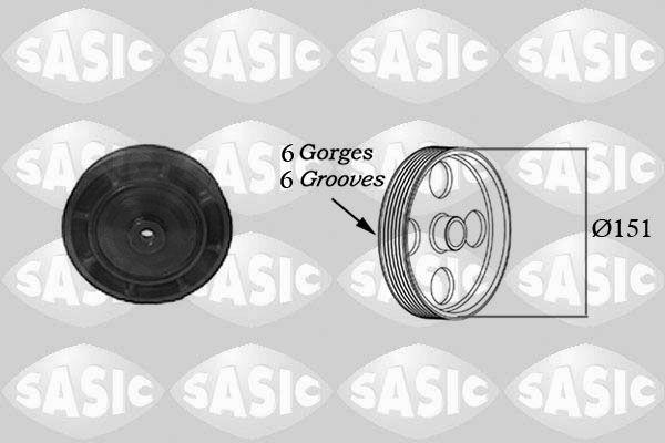 Řemenice, klikový hřídel SASIC 2154006