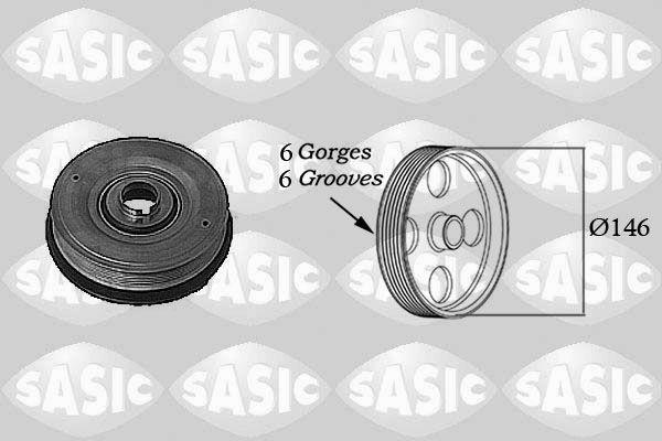 Řemenice, klikový hřídel SASIC 2154013