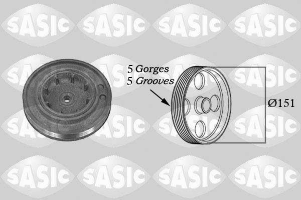 Řemenice, klikový hřídel SASIC 2154015