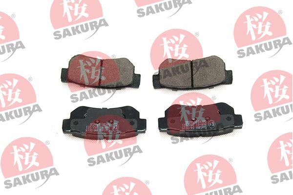 Sada brzdových destiček, kotoučová brzda SAKURA 601-05-4630